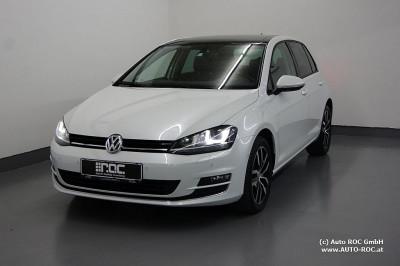 VW Golf Highline 2,0 BMT TDI 4Motion Glas-Dach/Xenon/Navi/Teil-Leder/ACC/AHK/uvm bei Auto ROC GmbH in Spittal an der Drau