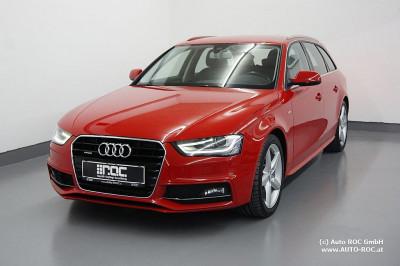 Audi A4 Avant 2,0 TDI quattro DPF S-Line/Leder-Alcantara/ACC/SHZ/uvm bei Auto ROC GmbH in Spittal an der Drau