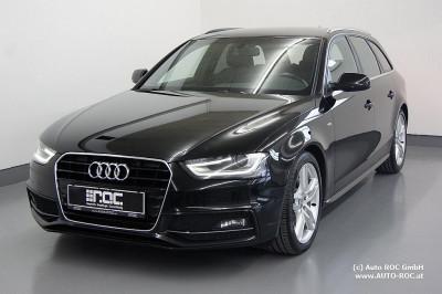 Audi A4 Avant 2,0 TDI  3x S-Line 4xSHZ/Navi/Teil-Leder/Xenon/Bluetooth/uvm bei Auto ROC GmbH in Spittal an der Drau