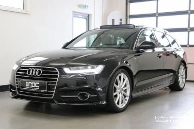 Audi A6 Avant 3,0 TDI clean Diesel Quattro S-tronic /2x S-line/Air-suspension/Glas-Dach/Kamera/AHK/uvm bei HWS || Auto ROC GmbH in Spittal an der Drau