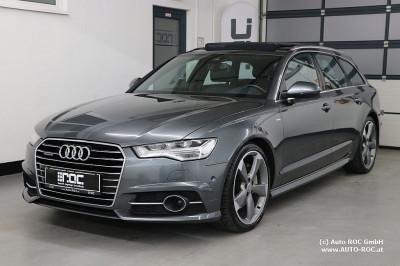 Audi A6 Avant 3,0 TDI clean Diesel Quattro S-tronic 2xSline/LED/Luftfederung/Panorama/Bose/ACC/Navi bei HWS || Auto ROC GmbH in Spittal an der Drau
