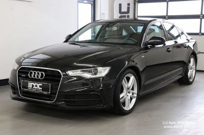 Audi A6 3,0 TDI quattro DPF S-tronic S line/Leder-Alcantara/Sportsitze/Xenon/Navi/uvm bei HWS || Auto ROC GmbH in Spittal an der Drau
