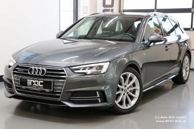 Audi A4 Avant 3,0 TDI quattro Sport S-tronic 3x S line/MATRIX-LED/Virtual/Navi+/AHK/uvm bei Auto ROC GmbH in Spittal an der Drau