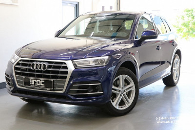 Audi Q5 2,0 TDI quattro sport S-tronic 3x S line/LED/Leder/Navi+/Virtual/AHK/STH/uvm bei Auto ROC GmbH in Spittal an der Drau