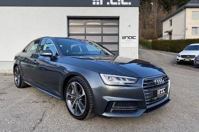 Audi A4 3,0 TDI quattro Sport S-tronic 2x S line/MATRIX/Sport-Diff/Leder/Massage/uvm bei Auto ROC GmbH in Spittal an der Drau