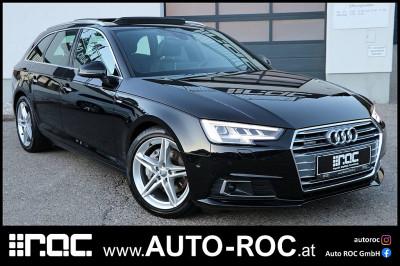 Audi A4 Avant 2,0 TDI quattro Sport S-tronic S line/Panorama/LED-Matrix/Kamera/Virtual/Navi+ bei Auto ROC GmbH in Spittal an der Drau