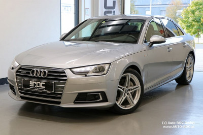 Audi A4 2,0 TDI quattro Sport S-tronic S line/Virtual/STH/Navi+/Teilleder/ACC bei Auto ROC GmbH in Spittal an der Drau